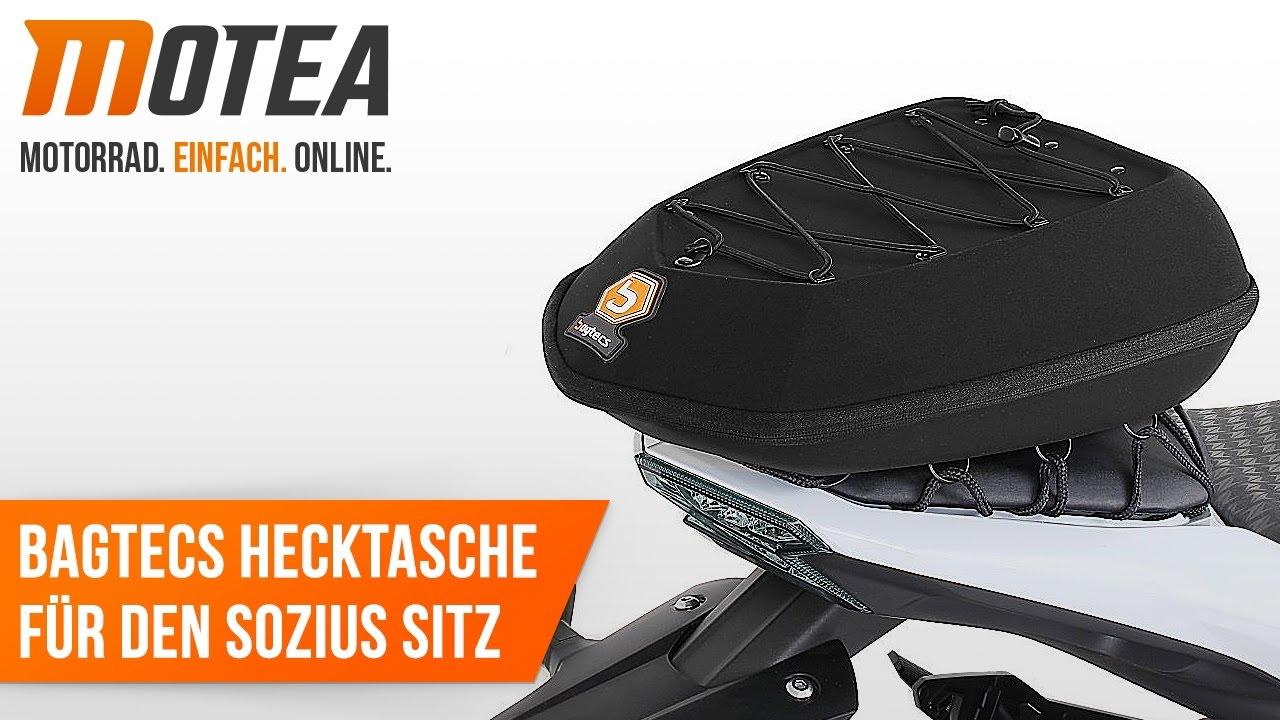 Hecktasche KTM 950 Supermoto SM// R Sozius Tasche Bagtecs X16
