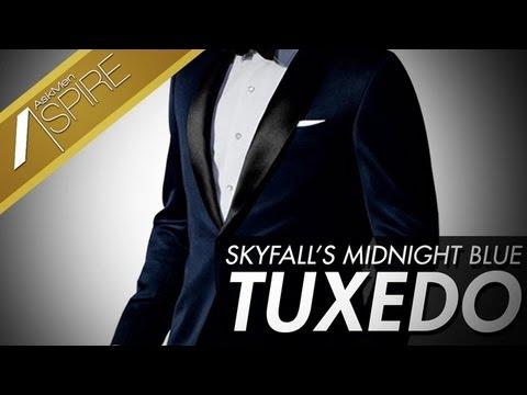 Saville Row's Finest Tailors, Skyfall's Blue Tuxedo