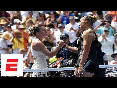 2018 US Open highlights: No. 1 Simona Halep upset in 1st round by Kaia Kanepi | ESPN