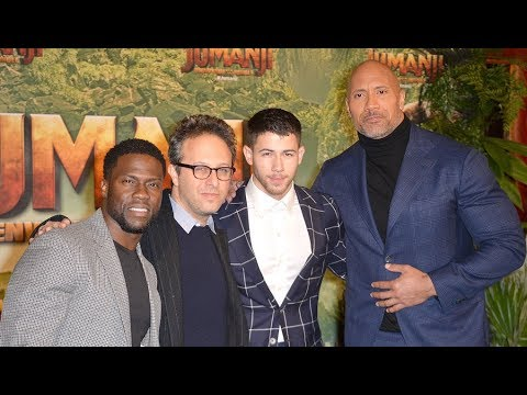 Jumanji: presented by Dwayne Johnson, Kevin Hart, Nick Jonas & Jake Kasdan