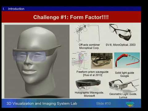 Colloquium: Hong Hua - Rendering Focus Cues in Head-Mounted Displays...