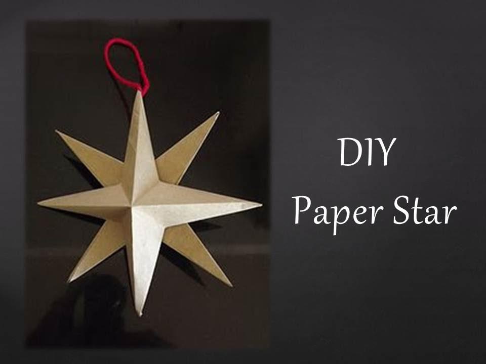 DIY How to make Star Lantern