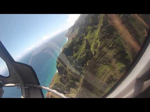 Breathtaking helicopter ride over Waimea Canyon and the Napali Coast.