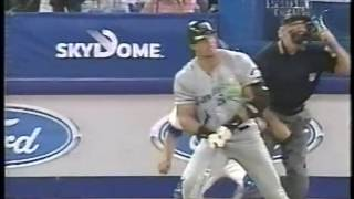 jose canseco 1998 2001 blue jays rays yankees white sox