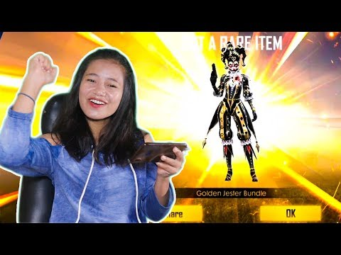 This Took My All Diamonds 💎 Golden Jester - New Incubator - Garena Free Fire