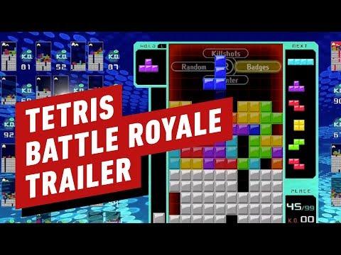 I thought I was good at 'Tetris' until I played 'Tetris 99'
