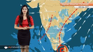 Weather Forecast for Sep 6: Rain in Bengaluru, Hyderabad, Chennai; Dry weather in Delhi and Mumbai