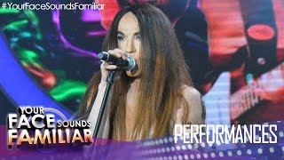 "Your Face Sounds Familiar: Kean Cipriano as Anthony Kiedis of Red Hot Chili Peppers - ""Give it Away"""
