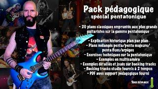 HO HO HO! Présentation pack spécial pentatonique!