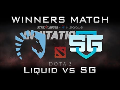 Liquid vs SG Winners Match Starladder 2017 Minor Highlights Dota 2