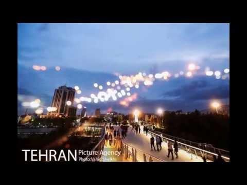 Tabiat Pedestrian Bridge - Nature Bridge Tehran Iran | Diba Tensile Leila Araghian
