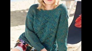 Вязание Спицами - Джемпер Женский - 2019 / Knitting Cardigan Female / Stricken Strickjacke Weiblich