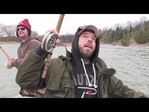 Ontario's Saugeen River Steelhead Fishing
