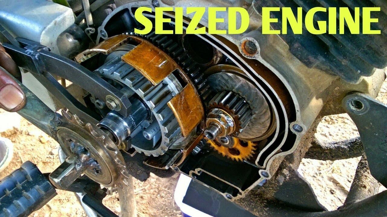 The Engine seized Yamaha libero Episode 1 - muhammad ali