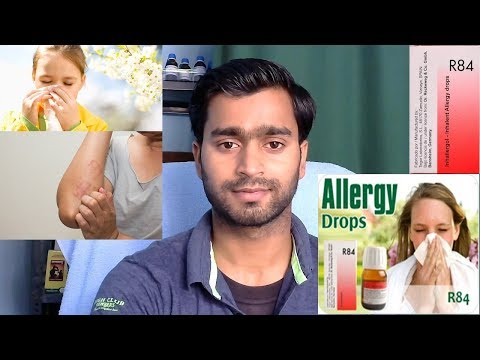 Homeopathic medicine for allergy!!!! R-84