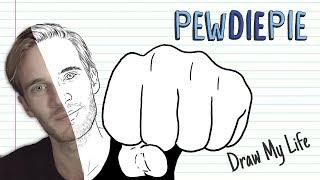 PEWDIEPIE (100 MILLION SUBSCRIBERS!) | Draw My Life