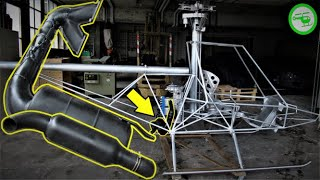 Exhaust System Mount EXPERIMENTAL HELICOPTER BUILD SERIES (Part 19)