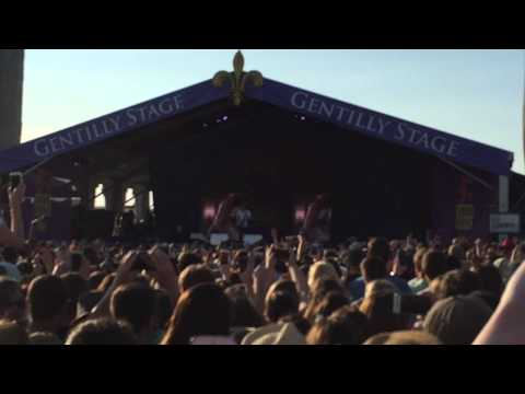 Thinking Out Loud - Ed Sheeran - New Orleans Jazz Fest (05/02/15)