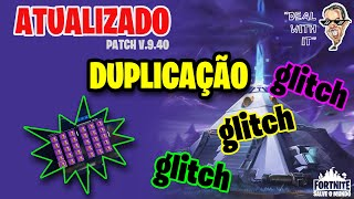 GLITCH UPDATED PACH 9.40-HOW to DUPLICATE at Fortnite Save the World