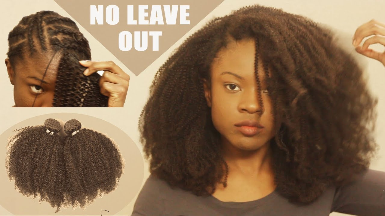 No One Believes Its Fake Detailed Natural Sew In Weave Tutorial Ft