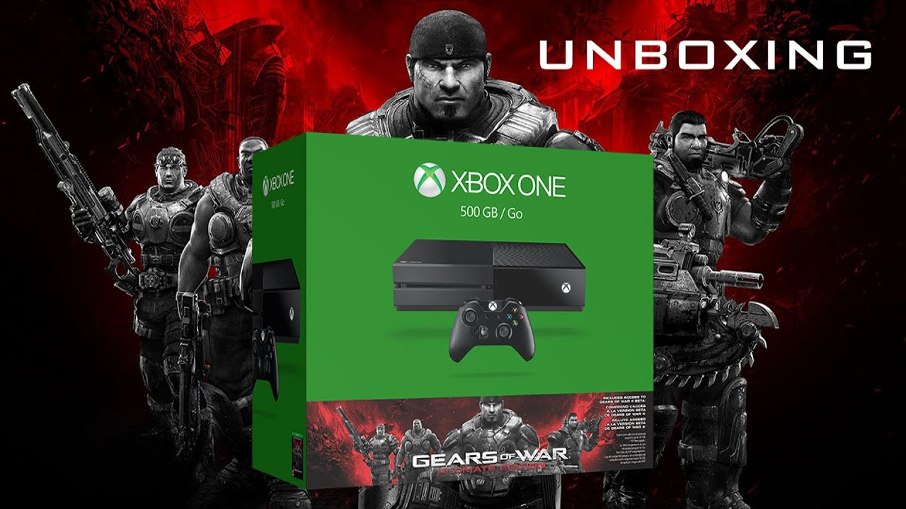 Microsoft xbox one 500gb gears of war ultimate edition bundle with.