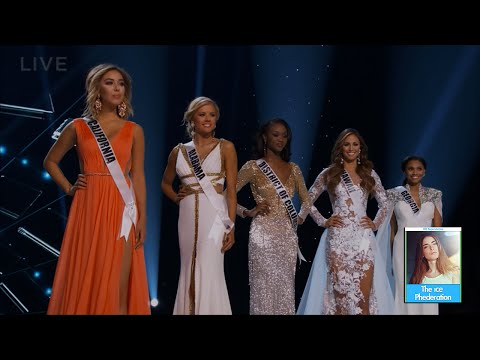 2016 Miss USA Questions & Answers   LIVE 6-5-16