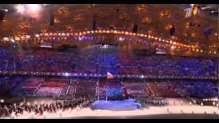 Открытие Олимпиады 2014 Выход Сборной России в Сочи