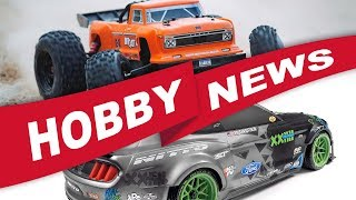 NEW RC, Gunpla and Giveaways | HOBBY NEWS February 2018