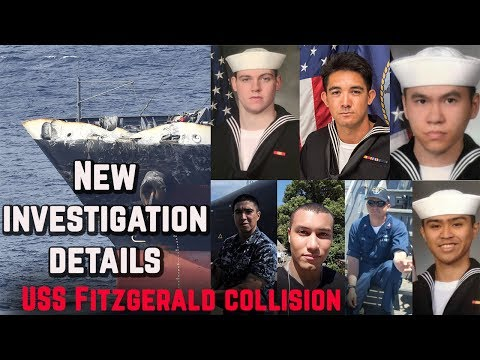 New details emerge in USS Fitzgerald collision investigation explaining the causes of ship accident