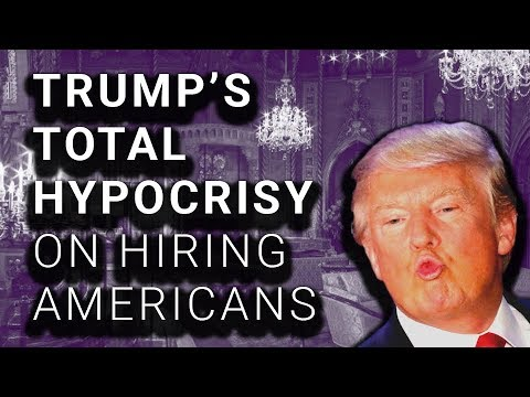 1 of 144 Trump New Hires Are American, 143 Are Foreigners