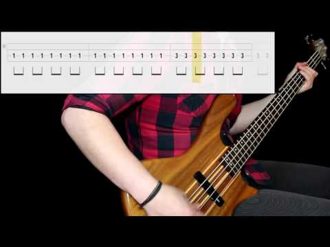 In Extremo - Feuertaufe (Bass Only) (Play Along Tabs In Video)