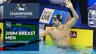 200m Breast Men | Shenzhen Day 2 | FINA Champions Swim Series 2020
