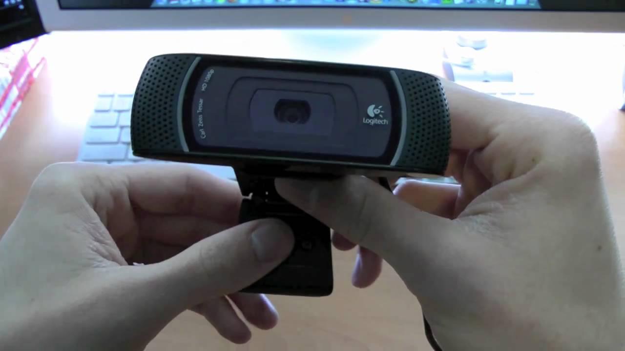 Logitech C910 Pro HD Webcam Driver for Windows Download