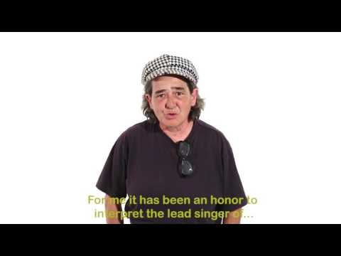 Special message to Pepe Mujica from protagonist of Mujica Song