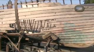 Ark: Artist Creates Massive 40' Boat Sculpture; Trucks It Toronto To Nyc Manhattan Bridge
