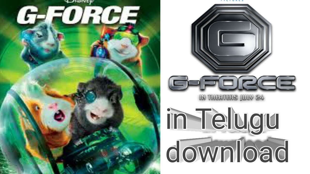 How To Download G Force Telugu Dubbed Youtube
