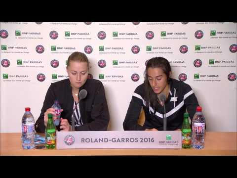 French Open: Garcia & Mladenovic Quarter-final Interview