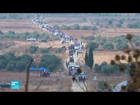 مئات الفلسطينيين يشتبكون مع القوات الإسرائيلية والمستوطنين لمنع مصادرة أراضيهم  - نشر قبل 2 ساعة