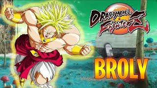 BROLY! DRAGON BALL FIGHTER Z