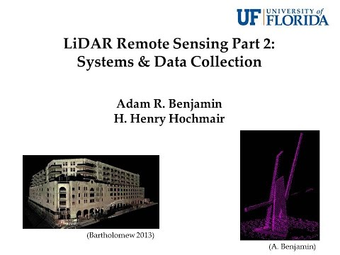 LiDAR Remote Sensing Part 2: Systems & Data Collection