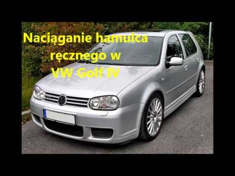 naci ganie linki hamulca r cznego w vw golf iv youtube. Black Bedroom Furniture Sets. Home Design Ideas
