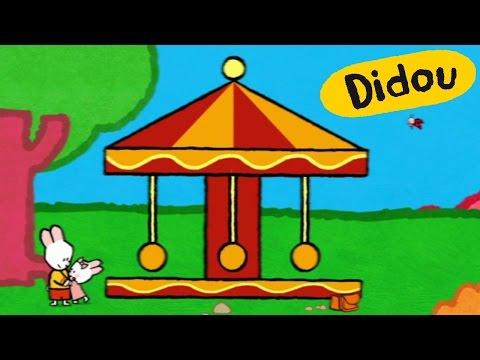 Manège - Didou, dessine-moi un Manège  Dessins animés pour les enfants