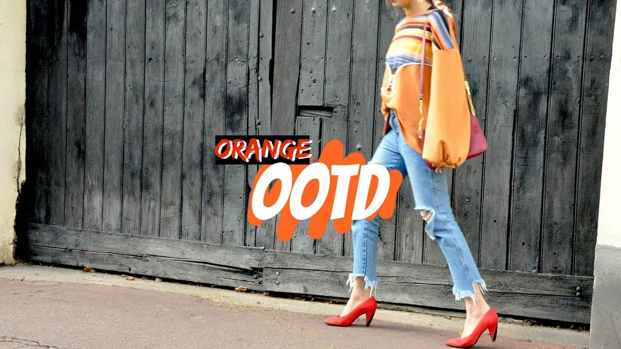 Orange // Autumn Fall Winter Lookbook 2017 Ep. 3 | Farah Asif 4