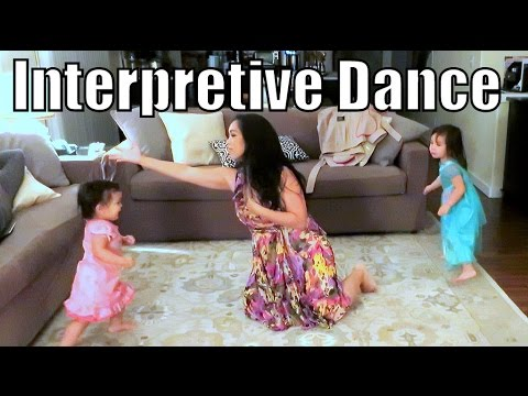 Our Family's Interpretive Dance! - March 26, 2016 -  ItsJudysLife Vlogs thumbnail