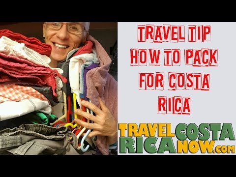 How to Pack for Costa Rica Travel Tip