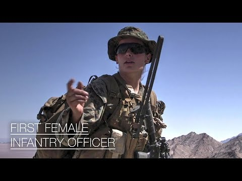 She Is Marine Corps' First Female Infantry Officer – 1st Woman Qualified To Lead Infantry Platoon