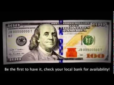 The New $100 Dollar Bill