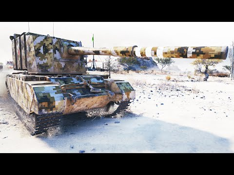 FV4005 Stage II, 11к УРОНА, 7 КИЛОВ !