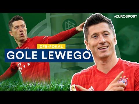 Robert Lewandowski - Gole w Pucharze Niemiec 2019/2020