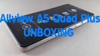 Unboxing Allview A5 Quad Plus - androidro ro
